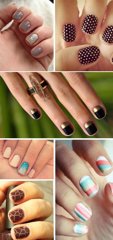 Popolare Nail art: unghie corte - Blog Make Up per donne 2.0 BJ09