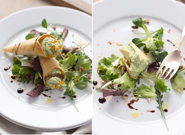 Latokitche.ricetta vegan.coni di ceci, tofu, broccoli