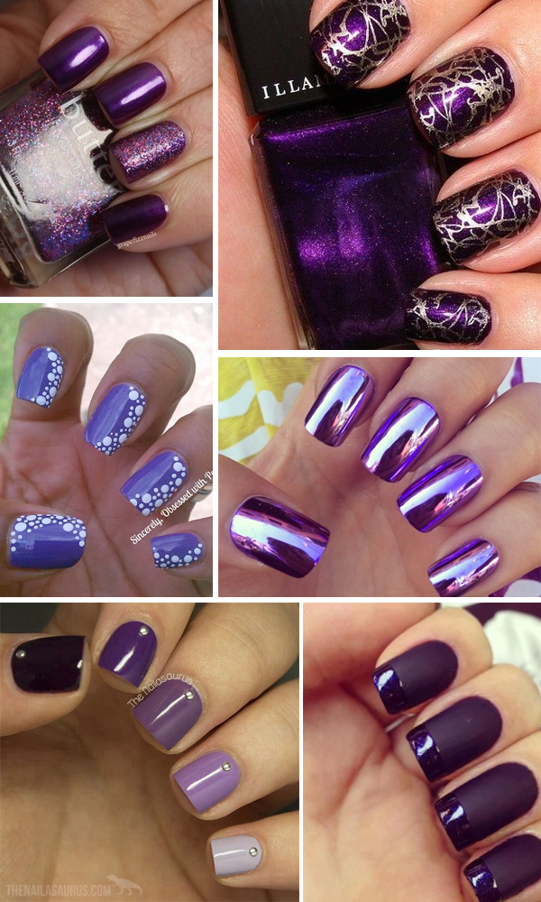 unghie-viola-purple-nails