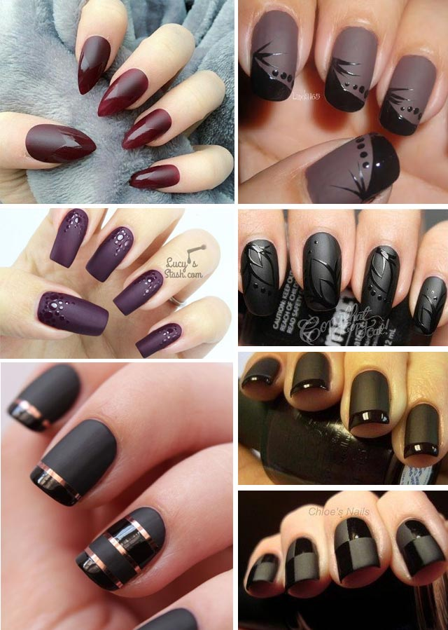 nails-matte-glossy