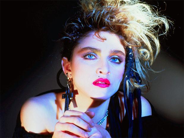 Le iconiche sopracciglia di Madonna negli anni '80