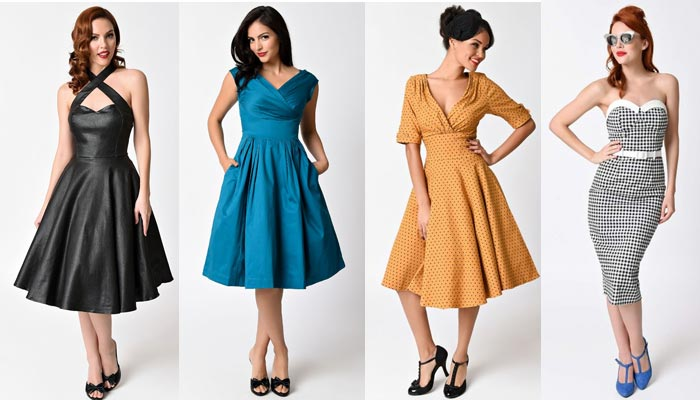 Molto Vestiti da pin up anni '40 e '50: la guida che ti serviva! OZ12