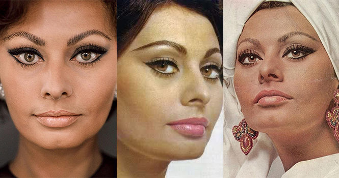 trucco-sofia-loren-makeup