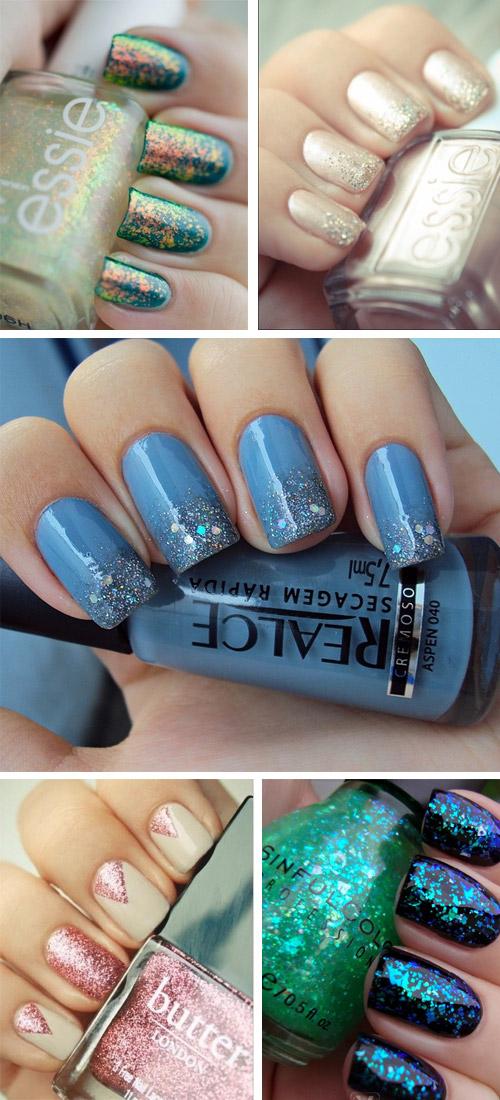 nail-art-unghie-glitter