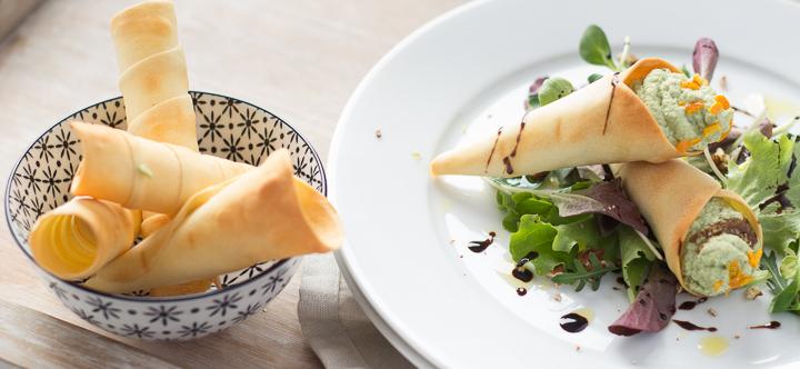 LatoKitchen.ricetta vegan.Coni di ceci, tofu e broccoli-2