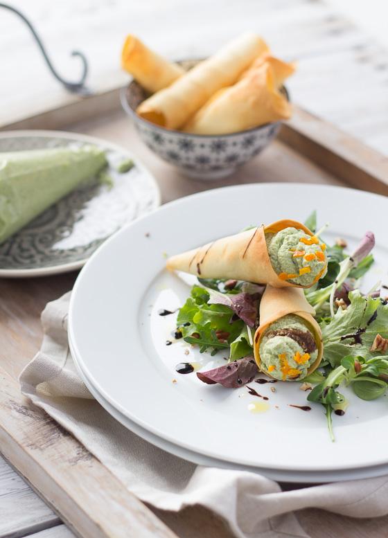 LatoKitchen.ricetta vegan.Coni di ceci, tofu e broccoli-5