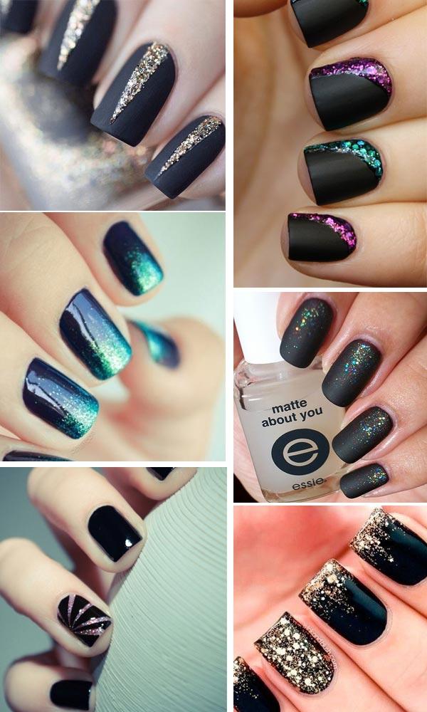 nails-black-glitter