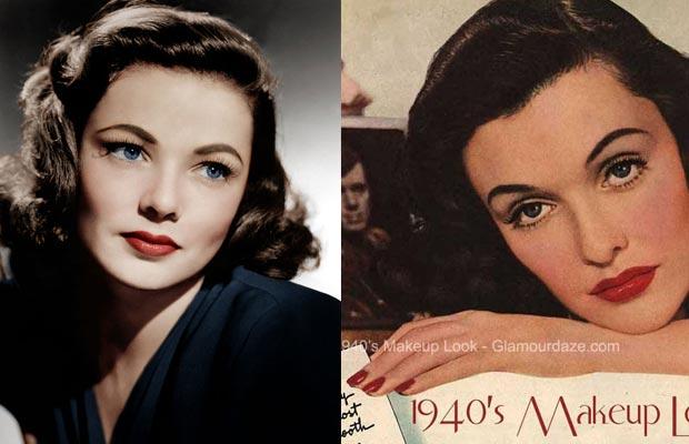trucco,1940,makeup
