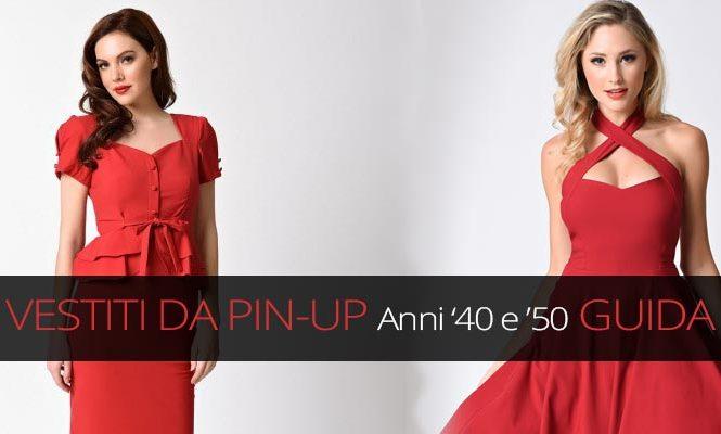 release date: 32a18 4f539 Vestiti anni 40 50: abiti e vestiti da pin up - Donna e Dintorni