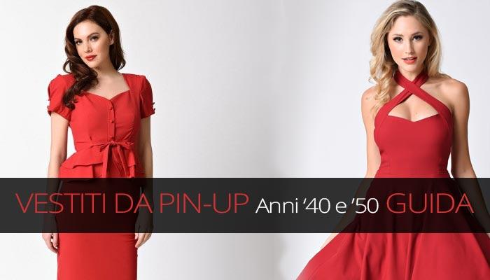 252a662ccd79 Vestiti anni 40 50  abiti e vestiti da pin up - Donna e Dintorni