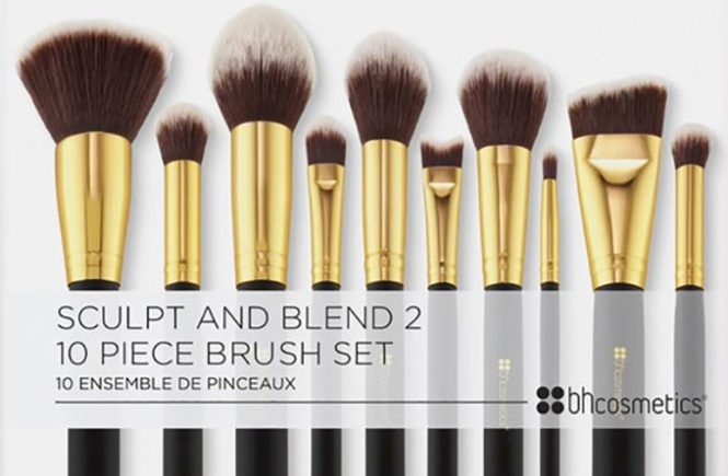 Video Review Sculpt and Blend 2 – 10 Piece Brush Set by BHCosmetics