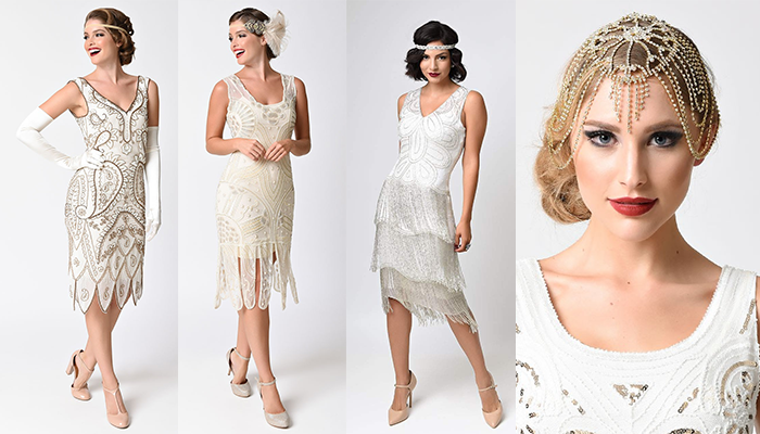 Abiti da Sposa anni '20 - Flapper Dress