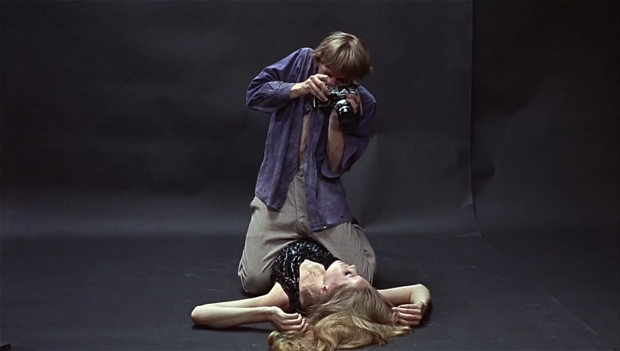 Veruschka in Blow Up