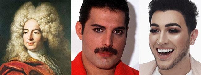 storia-del-makeup-maschile-trucco-uomini